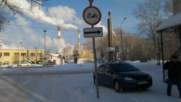 Вид на корпуса завода «БазэлЦемент-Пикалево»