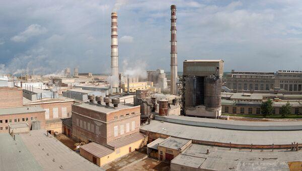 Панорама пикалевского производственного комплекса