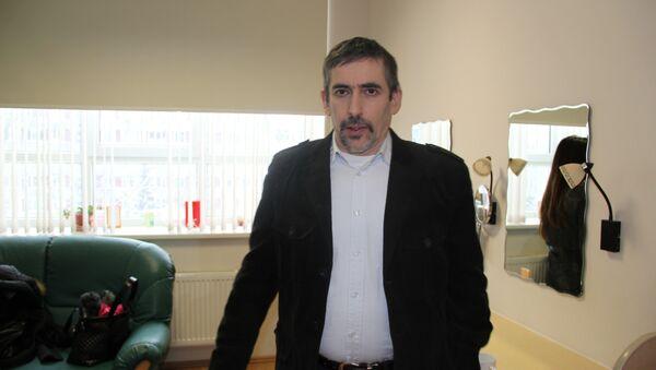 Владимир Линдерман, председатель общества Родной язык
