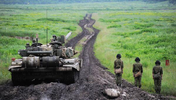 Военные в Северной Осетии, архивное фото