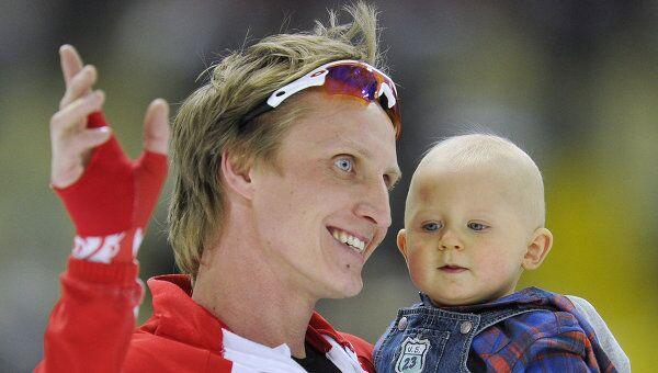 Иван Скобрев с сыном Филиппом