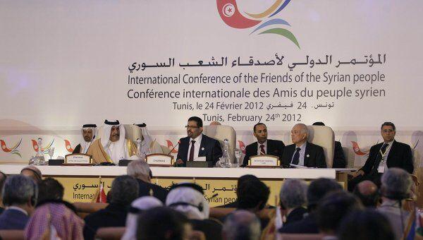 Встреча Друзей Сирии в Тунисе