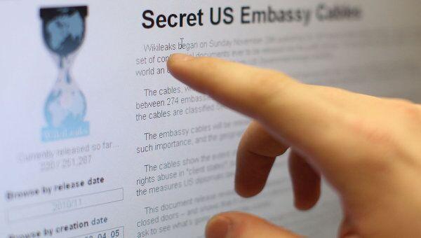 WikiLeaks. Архив
