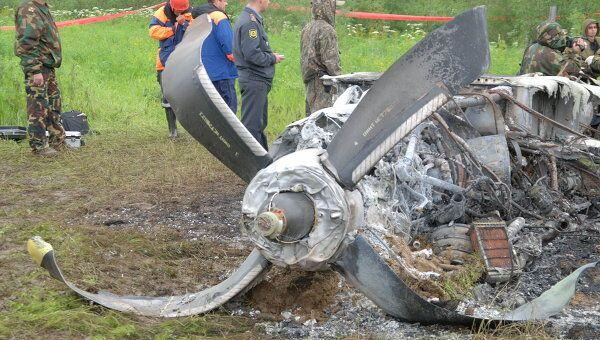 Авиакатастрофа Ан-24 в Красноярском крае