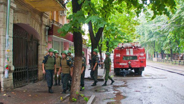 Взрыв на проспекте Кирова в центре Пятигорск