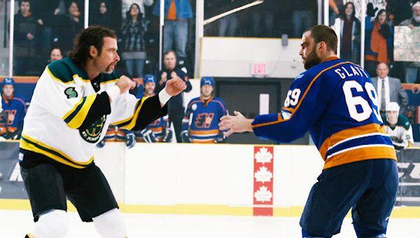 Подраться, чтобы стать звездой хоккея. Трейлер фильма Вышибала