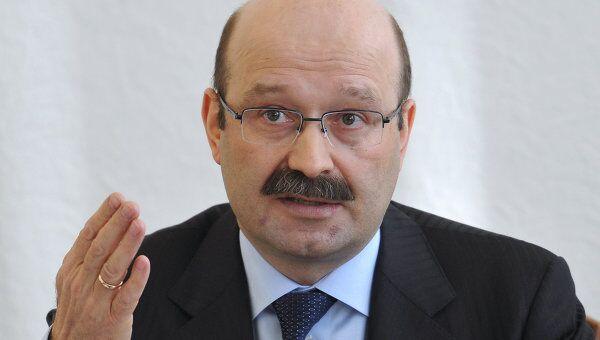 Президент - председатель правления ЗАО ВТБ 24 Михаил Задорнов. Архив