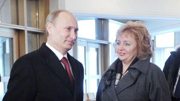Владимир Путин с супругой Людмилой. Архив