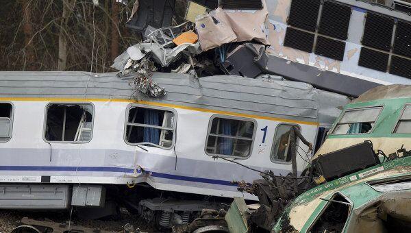Железнодорожная катастрофа в Польше