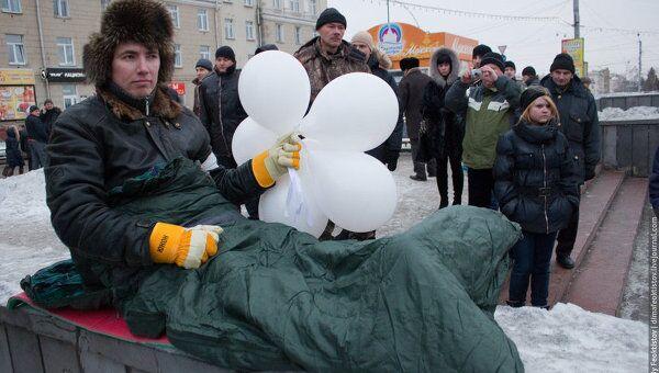 Митинг оппозиция выборы регионы Омск