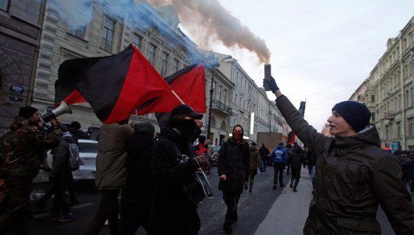 Митинг оппозиции в Санкт-Петербурге
