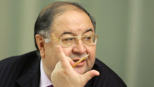 Бизнесмен Усманов обошел Лисина с помощью вложений в Facebook