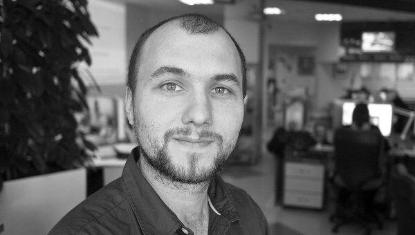 Руководитель студии инфографики РИА Новости Павел Шорох