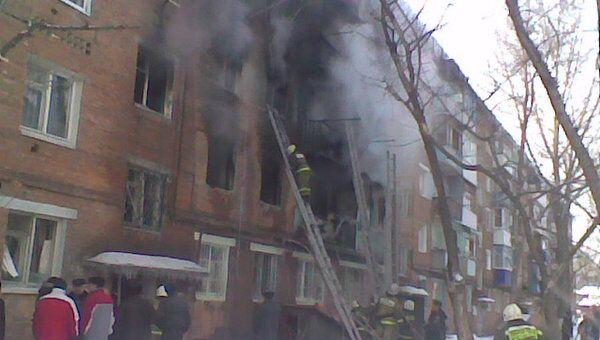 При пожаре в жилом доме под Саратовом погибли люди