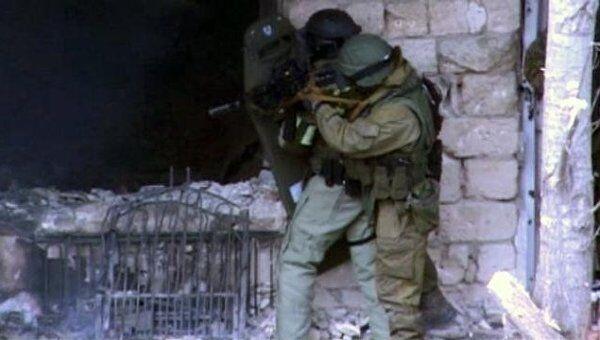 Двое боевиков и их пособница уничтожены в Махачкале. Кадры спецоперации