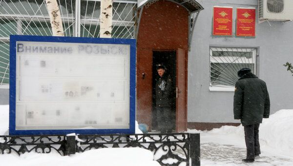 Полицейский участок Дальний в Казани. Архив