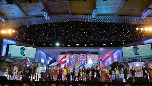 Конкурс молодых исполнителей Новая волна - 2010 проходит в Юрмале