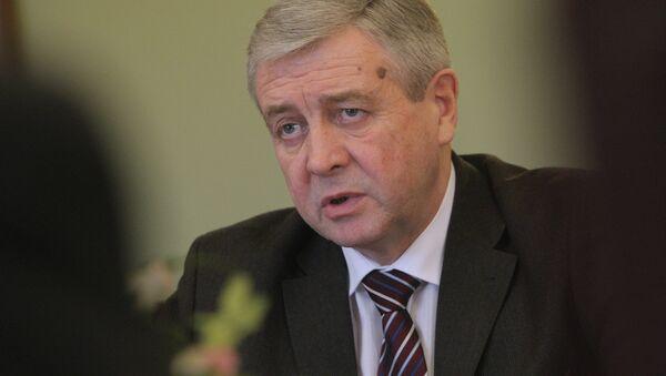 Первый вице-премьер Белоруссии Владимир Семашко. Архивное фото