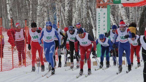 Первенство Сибирского федерального округа по лыжным гонкам среди лиц среднего и старшего возрастов