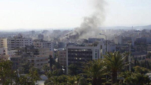 Двойной теракт в Дамаске