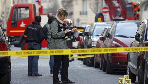 Взрыв перед посольством Индонезии в Париже