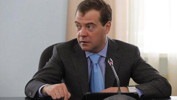 Д.Медведев провел заседание по вопросам коррупции в ситуационном центре ГИБДД по Москве