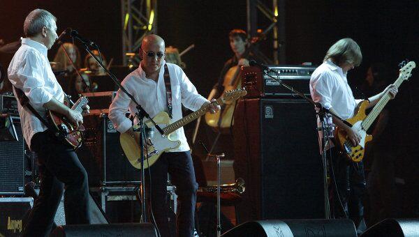 Музыканты рок-группы Воскресение. Архивное фото