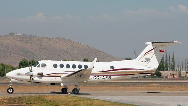 Пропавший в Чили самолет Beechcraft BE 300