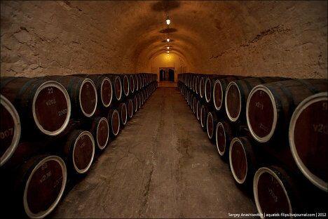 Коньяк производство напиток алкоголь Крым