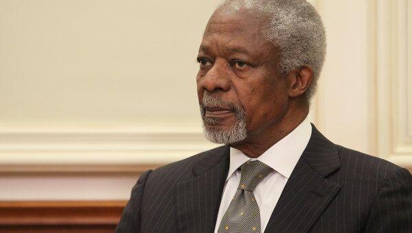 Специальный посланник ООН и Лиги арабских государств Кофи Аннан