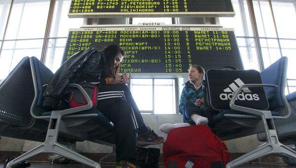 Прерванное авиасообщение между Россией и Белоруссией временно возобновлено. Архив