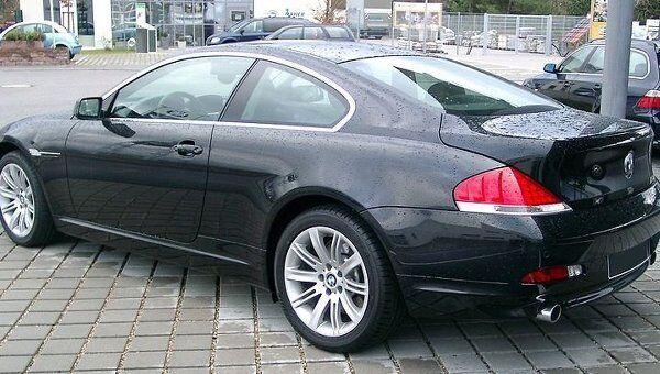 Автомобиль BMW E63