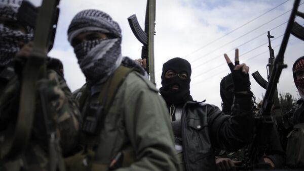 Свободная сирийская армия. Архивное фото