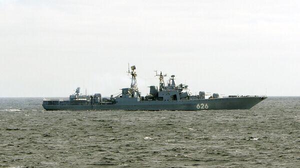 Корабль Северного флота в Аденском заливе