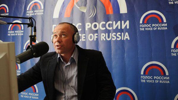 Работа радиостанции Голос России