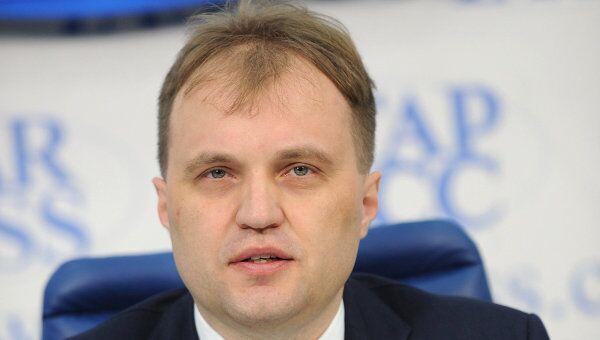 Пресс-конференция главы Приднестровья Евгения Шевчука