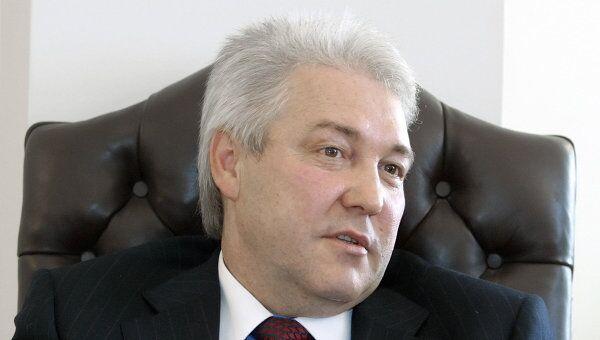 Председатель правления банка Санкт-Петербург Александр Савельев. Архив