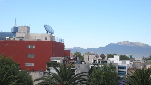 Мехико. Вид на город