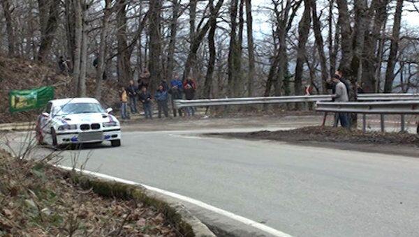 Горные автогонки в Сочи: по серпантину со скоростью 100 км/час