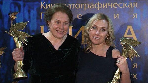 Премию Ника за лучшую женскую роль вручили сразу двум актрисам