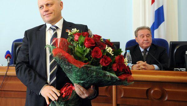 Рассмотрение кандидатуры Виктора Назарова на пост губернатора