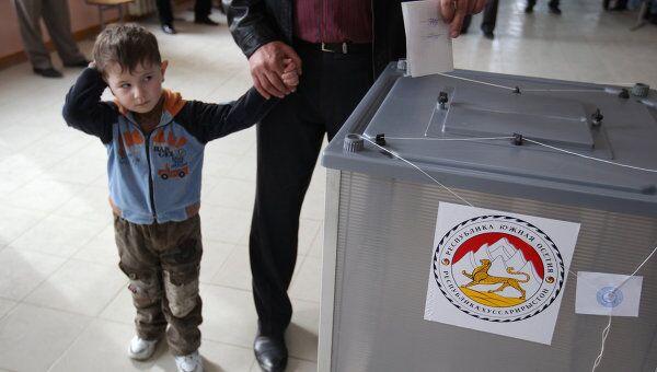 Второй тур выборов президента Южной Осетии