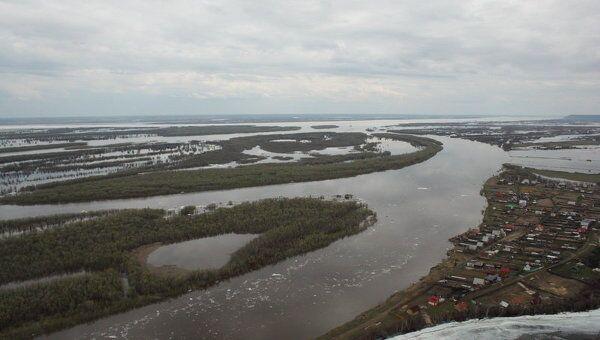Паводок в Якутии