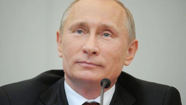 Владимир Путин выступил перед Госдумой РФ с завершающим отчетом