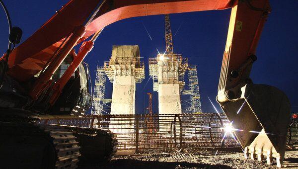 Строительство мостового перехода на остров Русский во Владивостоке