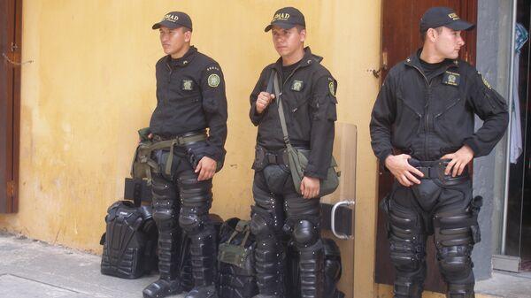 Полиция Колумбии. Архивное фото