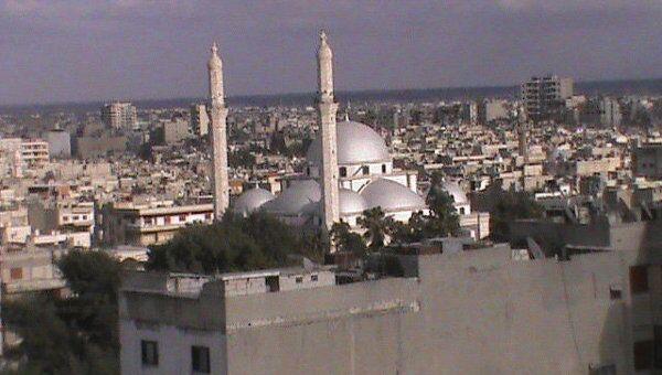 Ситуация в сирийском городе Хомс