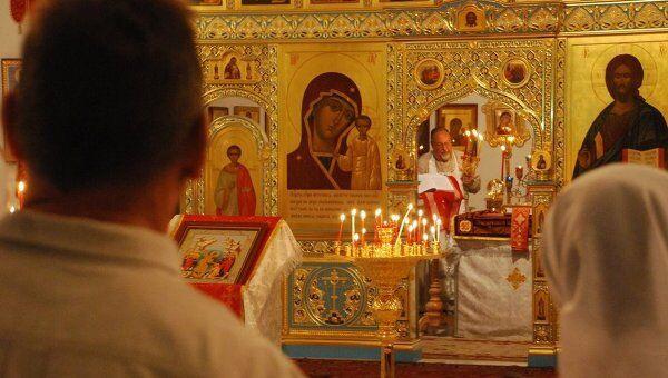 Пасхальные богослужения и Крестный ход прошли в храме РПЦ в Гаване