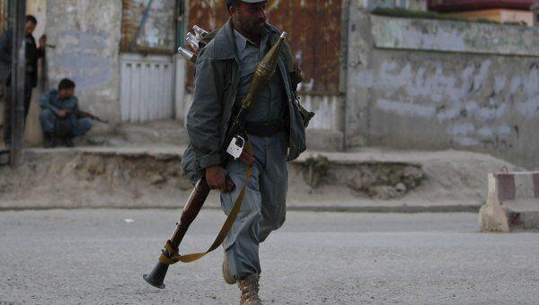 Серия терактов в Кабуле 15 апреля 2012 года