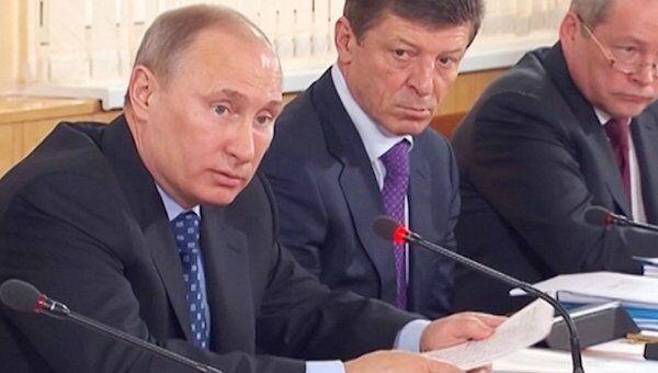 Путин заявил о возможной отмене экспертизы проектов строительства жилья